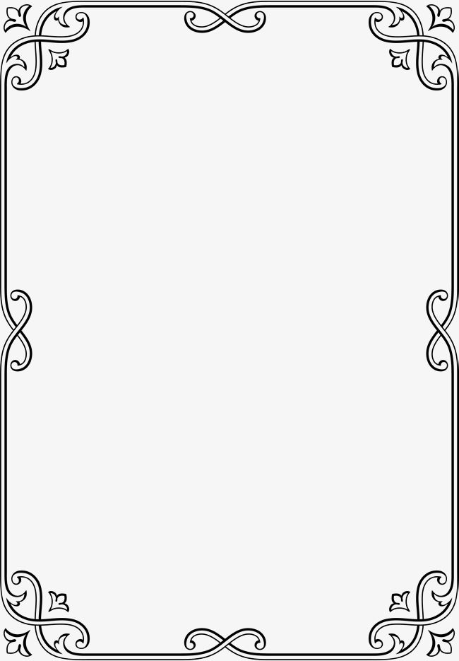 Black Simple Frame Botany Border Texture No Dig Png Line Border Texture No Dig Png Black Clipart Minimalist Page Borders Design Clip Art Borders Doodle Frames
