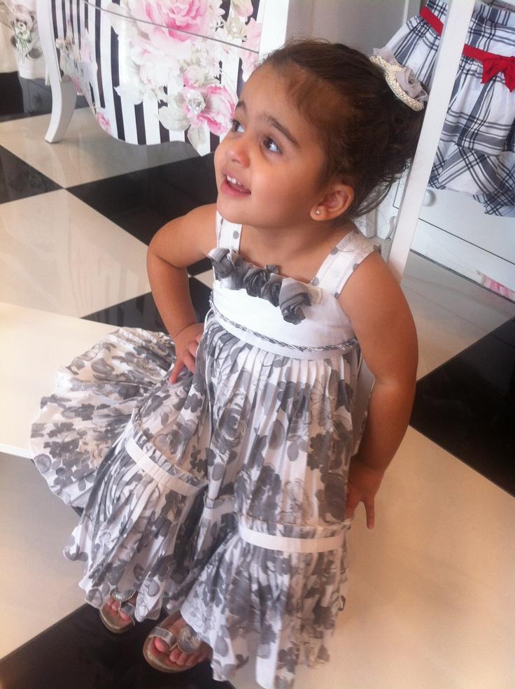 Beautiful Monnalisa Chic dress SS2012