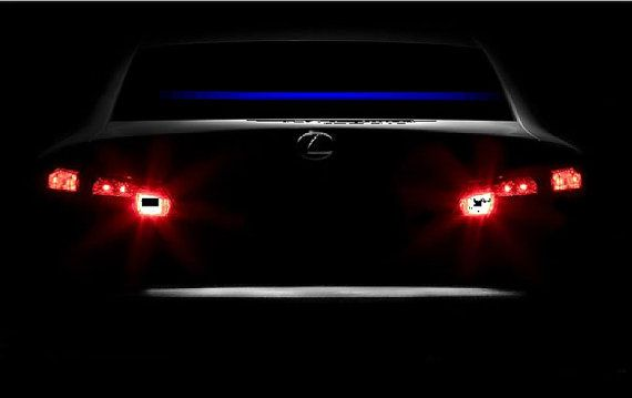 Thin Blue Line decal Thin blue line reflective by DecalKingz