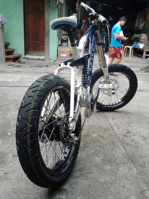 UNDERGROUNDVELO supermoto mountain bike