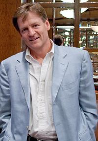 Author and journalist Michael Lewis for his inspirational graduation speech at Princeton this week          (photo from Wikipedia, the free encyclopedia)
