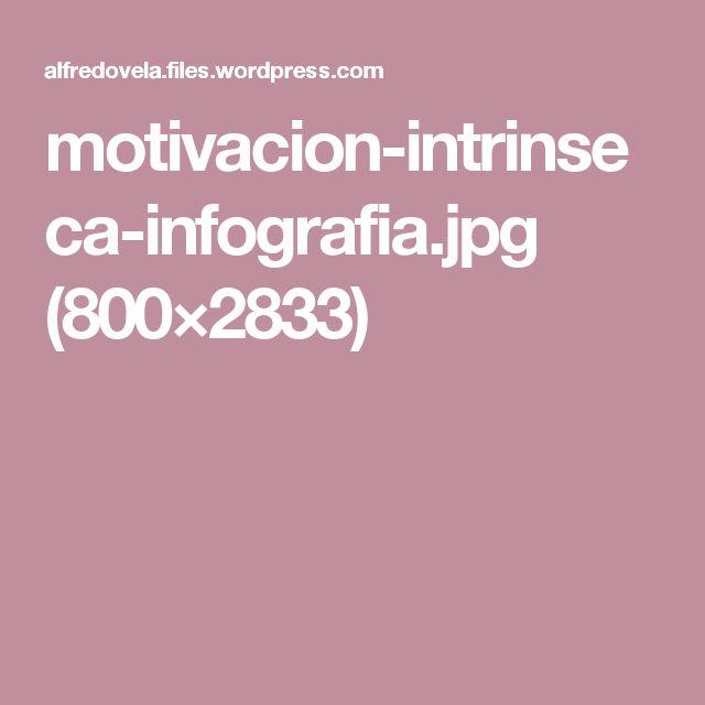 motivacion-intrinseca-infografia.jpg (800×2833)