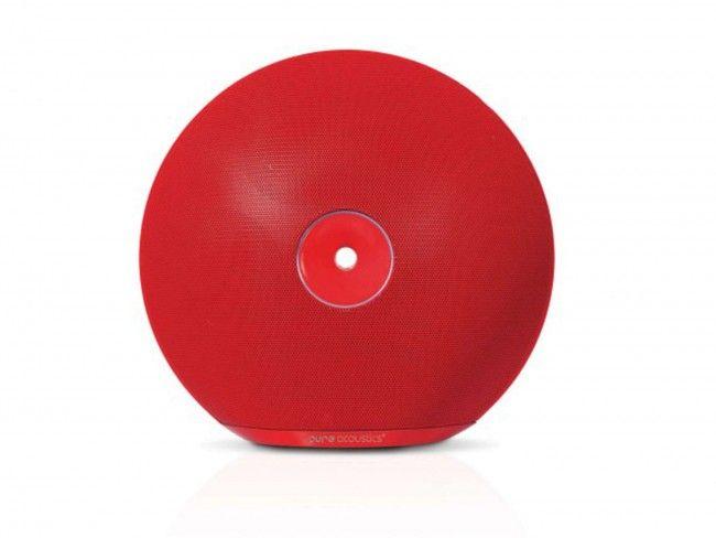 Pure Acoustics Halo Rood - Bluetooth Speakers - 123platenspeler.nl