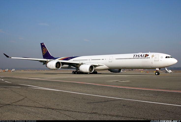 Thai Airbus A340-642