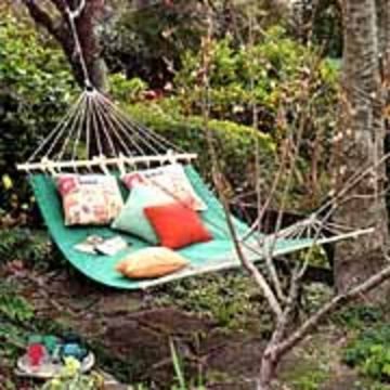 339 best images about diy outdoor on pinterest gardens for Diy canvas hammock