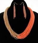 Orange two-tone