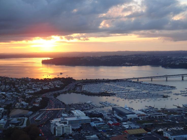 SkyWalk views, Auckland New Zealand