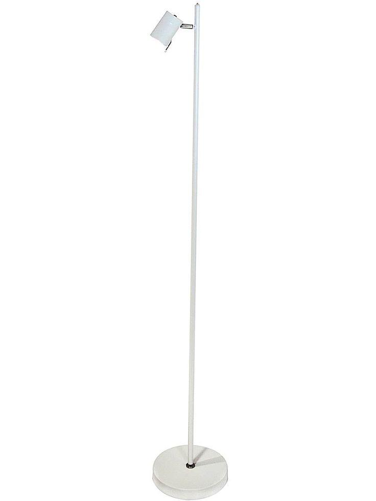 Vit golvlampa - läslampa - By Rydéns 1986570-5002