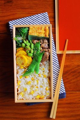 Making in a corner of Japan, a lunch box for a certain day