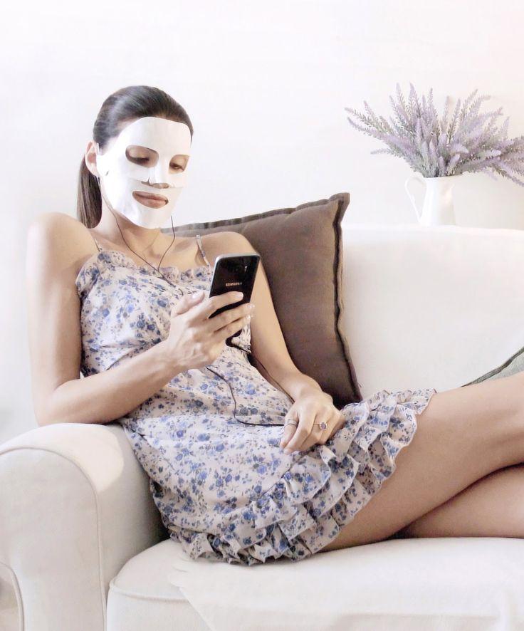 Manuki's ... a place of my own.: [I didn't see that coming] Play Skin: maschera viso anti-age Hi-Tech