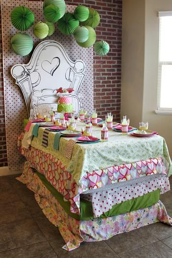 Hostess with the Mostess® - HapPea Birthday PJ Party (Princess & the Pea)