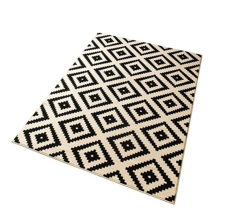 Teppich schwarz weiß  Die besten 25+ Ikea teppich schwarz weiß Ideen auf Pinterest ...