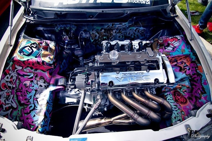 jdm civic engine bay  jdm  free engine image for user