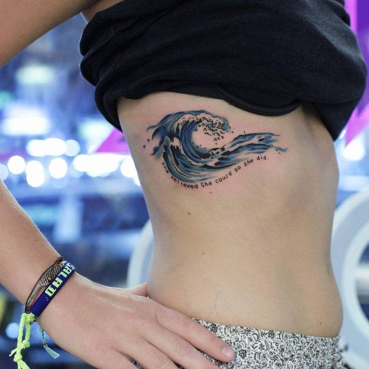 Wave Tattoo_