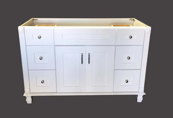 Single Vanity Floor Storage Cabinet