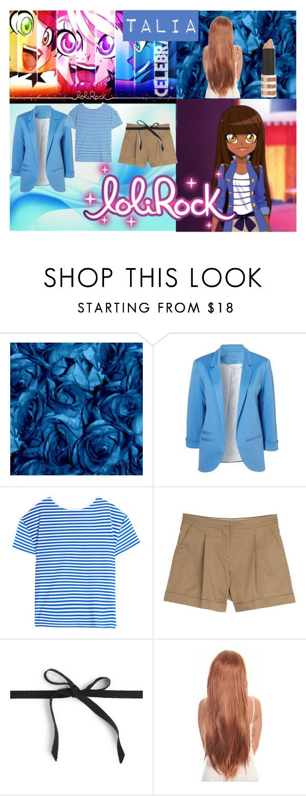 """Lolirock Talia"" by juliasfashionchoice ❤ liked on Polyvore featuring M.i.h Jeans, Valentino, J.Crew and Topshop"