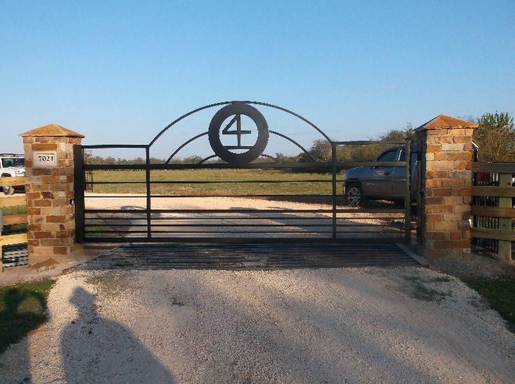 326 Best Driveway Gates Images On Pinterest Wooden Gates