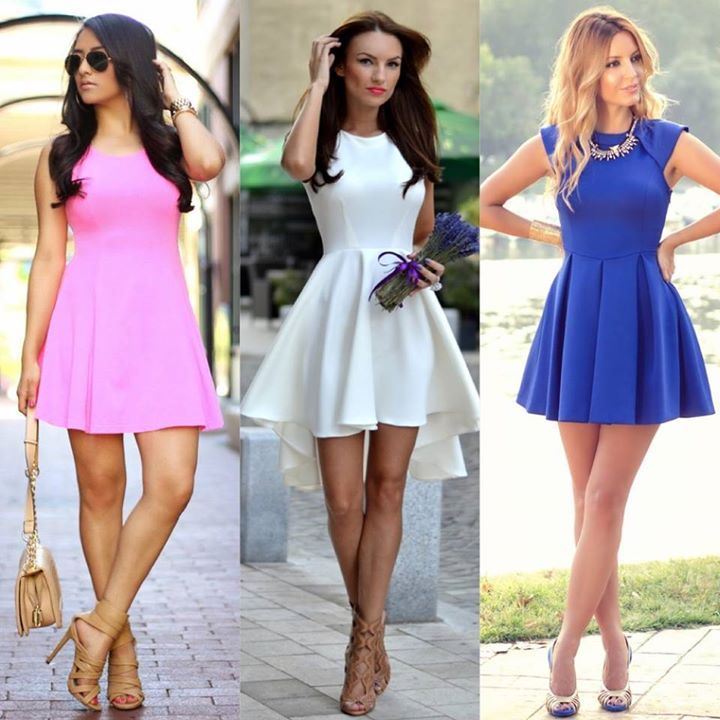 <3 Cute Skater Dresses <3  Who Wore It Best?