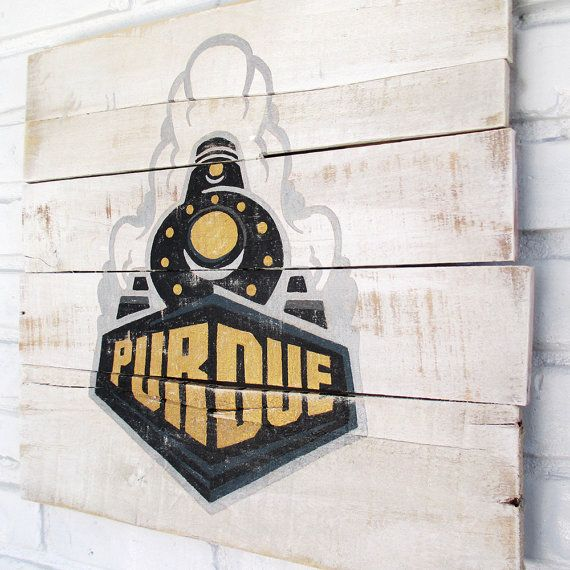 Purdue University Sign by VintageSignDesigns on Etsy