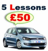 Want to pass your driving test before Christmas then book your driving lesson with ALBA driving school now.