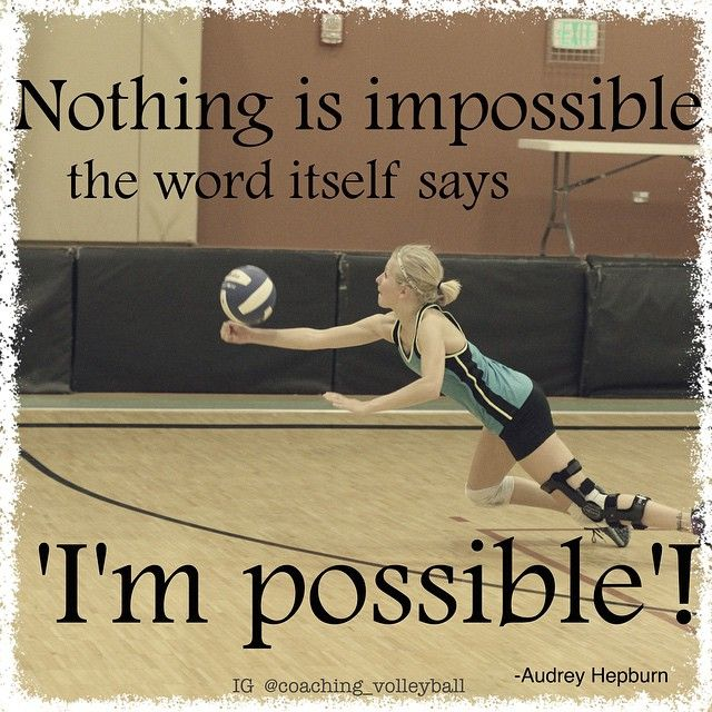 Motivational Team Quotes Volleyball: Best 25+ Volleyball Quotes Ideas Only On Pinterest
