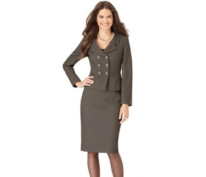 Grey Regal Work Suit for Women (New Collection) - Fashion Industry Network