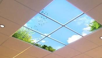 Idee voor BG in verlaagd plafond of in verlaagd plafond eiland