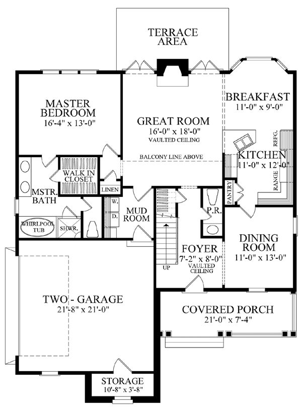 Cape cod cottage country french country house plan 86109 for Southern living cape cod house plans