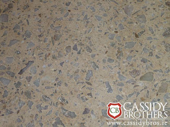 White Polished Concrete