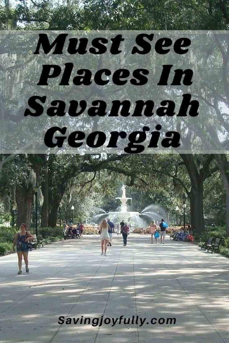 Savannah Georgia Top 4 Free Places You Must See Savannah Chat Savannah Georgia Georgia Vacation