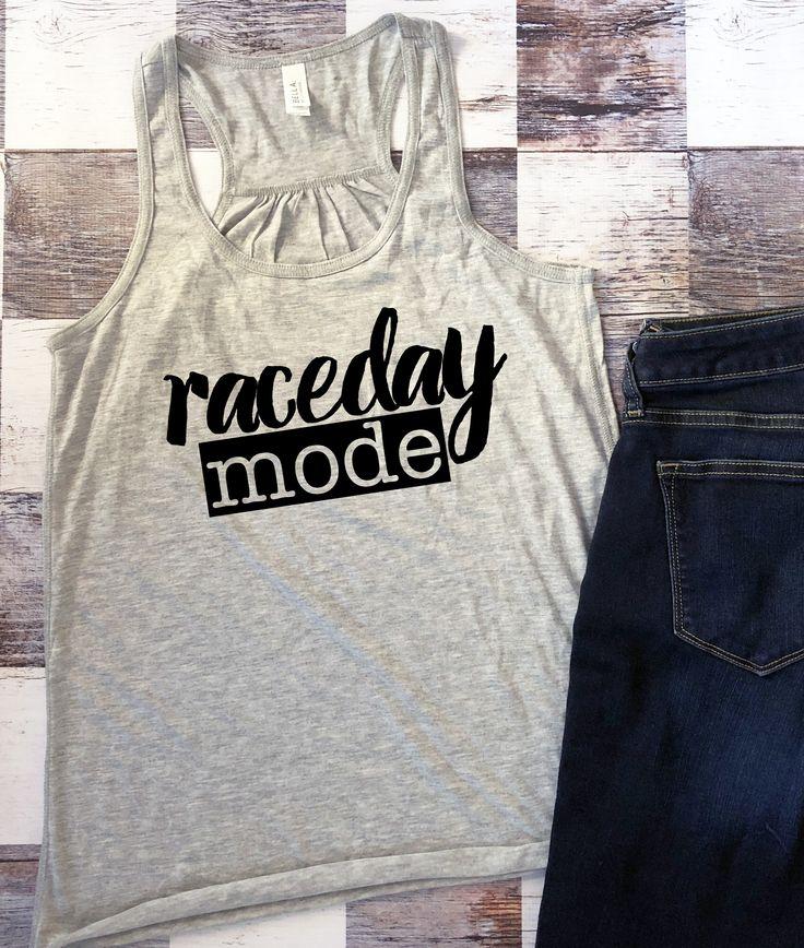 Raceday Mode Ladies Racing Tank Top