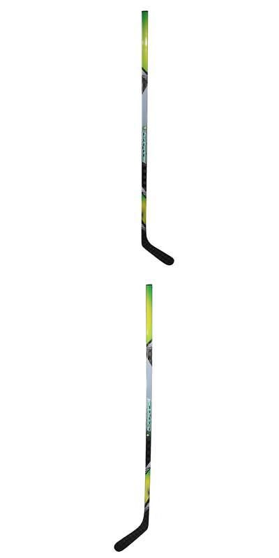 Other Hockey Clothing and Gear 165934: Adult 67-Inch Grey Yellow Ice Hockey Stick -> BUY IT NOW ONLY: $206.99 on eBay!