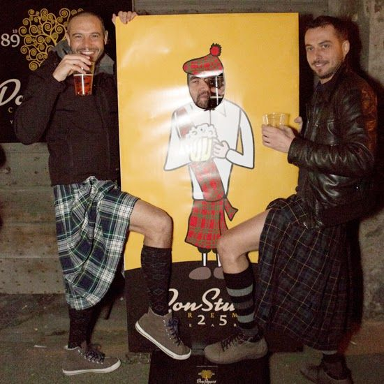 #kilt #scozzese #anniversario #birra