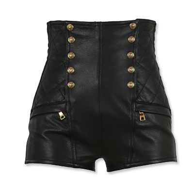 #Balmain Leather Shorts http://obsessed.instyle.com/obsessed/photos/results.html?id=21162692