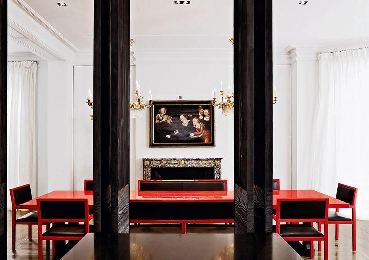 Christian Liaigre Design. London Townhouse. Photo credit: Mark Seelen. Liaigre/Editions Flammarion.
