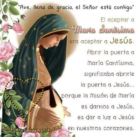 Gracias Mamita Maria por darnos a Jesús.