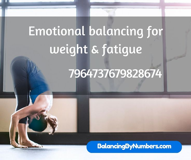 I think we all know that when are emotions are out of balance it can affect our weight and our energy level. This number may help bring us back into balance. http://www.balancingbynumbers.com/
