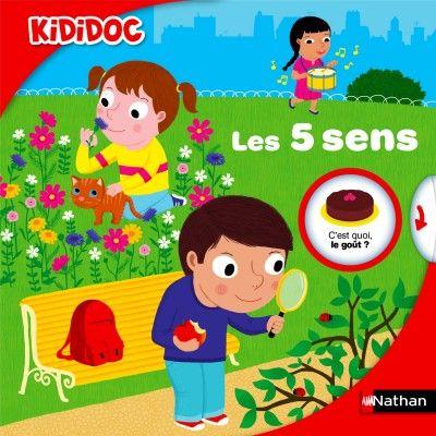 Livre Kididoc : Les cinq sens - Nathan-55393