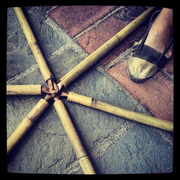 From @xavieraalberola #Instagram #geodesicdome #geodesic #bamboo #dome #geometry #bioconstruccion #espardenya #pare #molinsderei #acarquitecte