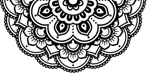 Flower Decal Mandala Decal Car Decal