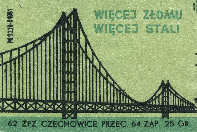 @MaraidDesign Polish matchbox label.