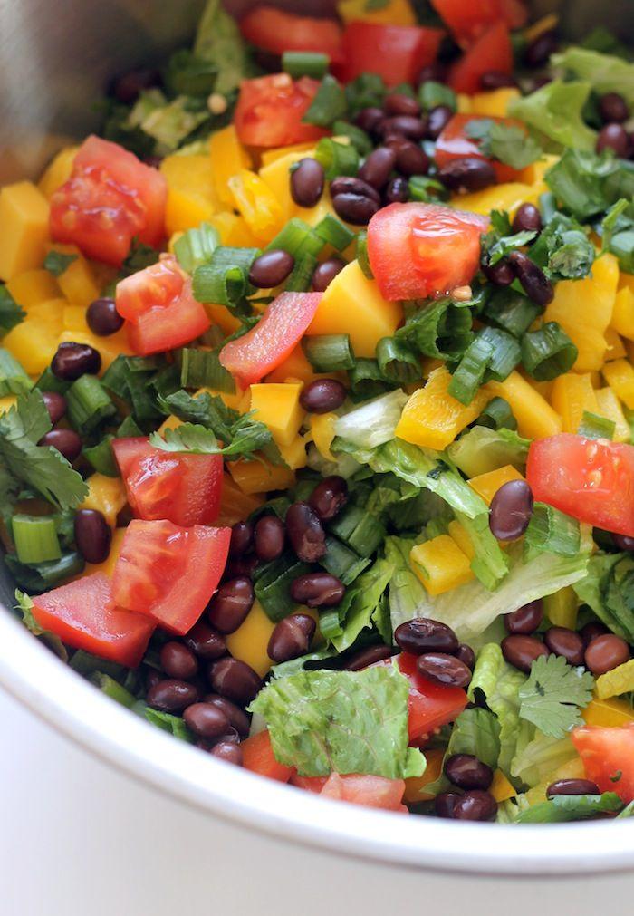 die besten 25 mexikanischer gehackter salat ideen auf pinterest gehackter salad mexikanische. Black Bedroom Furniture Sets. Home Design Ideas