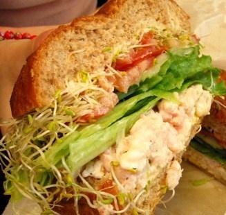 Cajun Delights: Shrimp Salad Sandwiches
