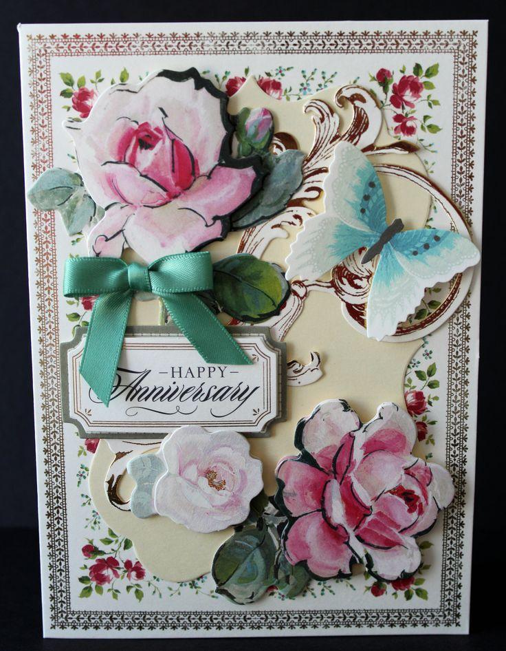 Made With Anna Griffinu0027s Garden Window Card ...