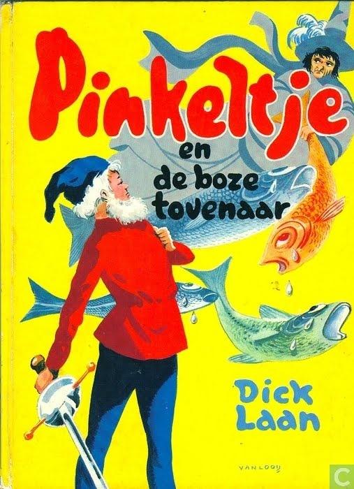 Elk jaar voor mijn verjaardag kreeg ik van mijn oom een Pinkeltje boek... bedankt oom Dick