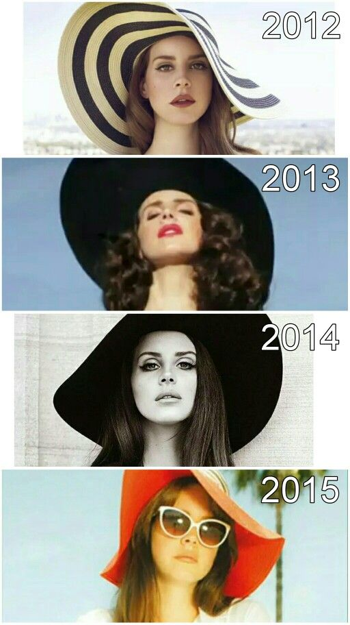 Lana Del Rey + floppy hats #LDR #fashion