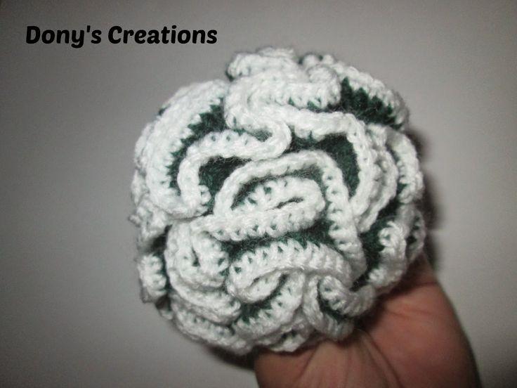 Dony's Creations : Cactus arricciato _ pattern free italiano