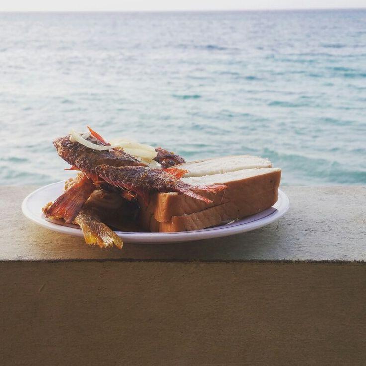 Jamaican Fry Fish & Hardo Bread
