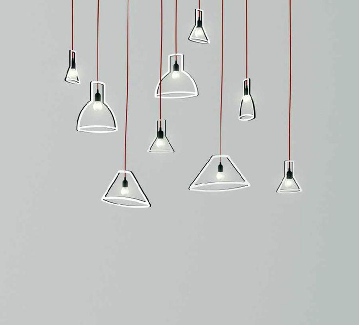 Illuminazione bagno: Lampada Outliner da Boffi bagno  Design: Martin Schmitz...
