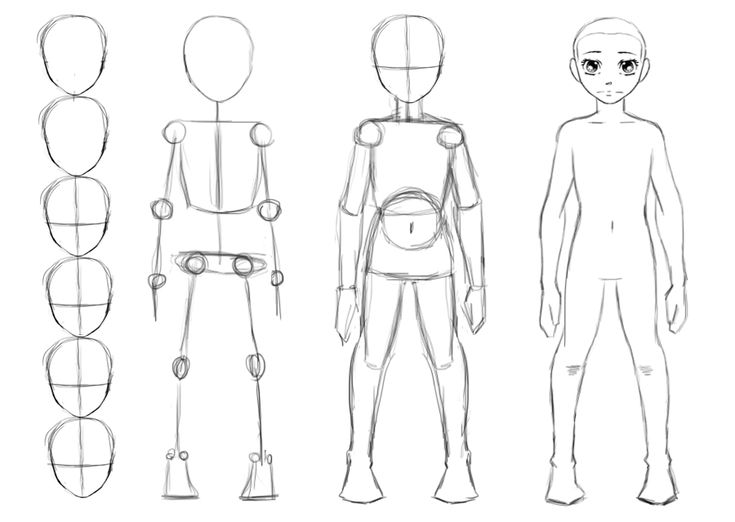 how to draw a body - Google Search